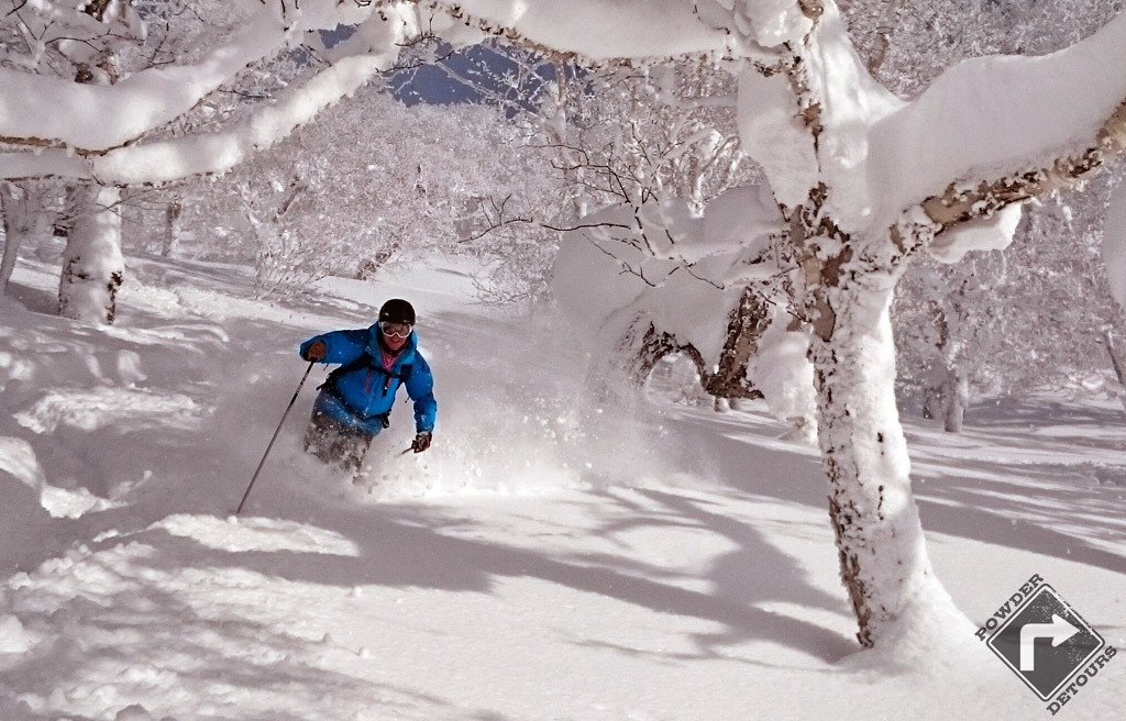 powder day trips to kiroro